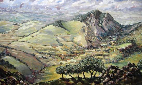 Jimena de la Frontera from National Park