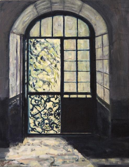 Sunlight through Open doorway